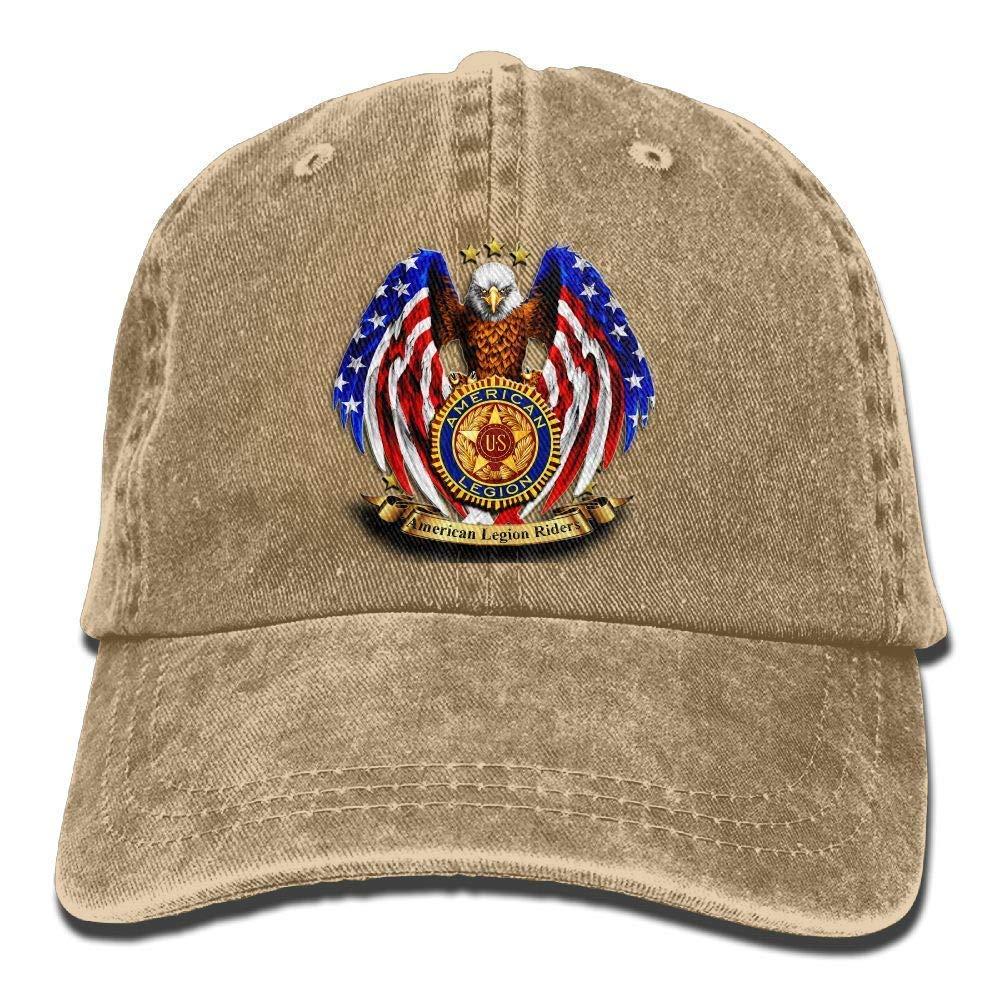 American Legion Riders Chapter Adjustable Baseball Caps