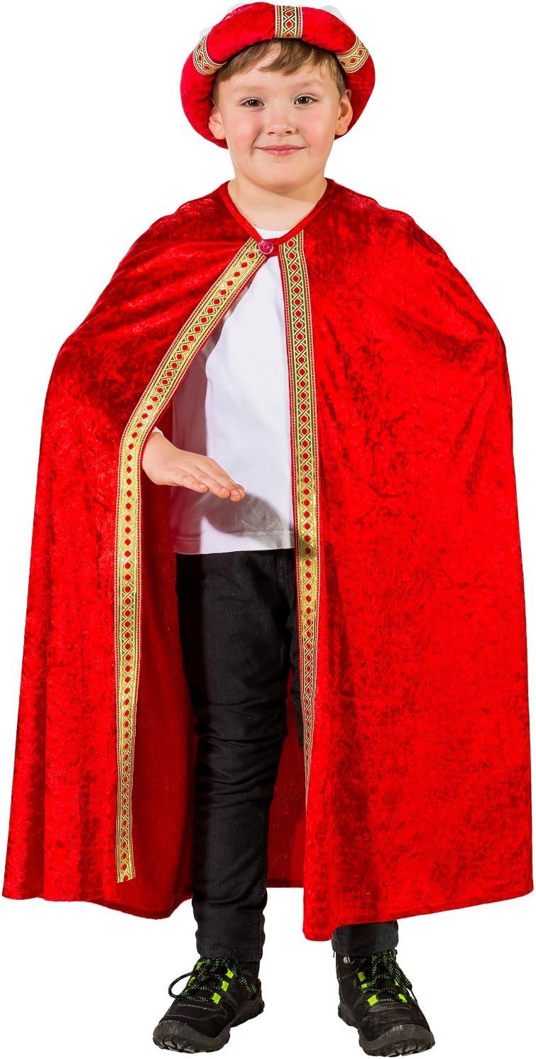 Orlob Fasching Disfraz Infantil Santo Tres Reyes Capa Navidad ...