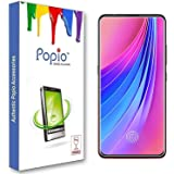 POPIO Tempered Glass Screen Protector For Vivo V15 Pro/Xiaomi Redmi K20 / Xiaomi Redmi K20 Pro (Transparent) Full Screen Coverage (Except Edges) With Easy Installation Kit