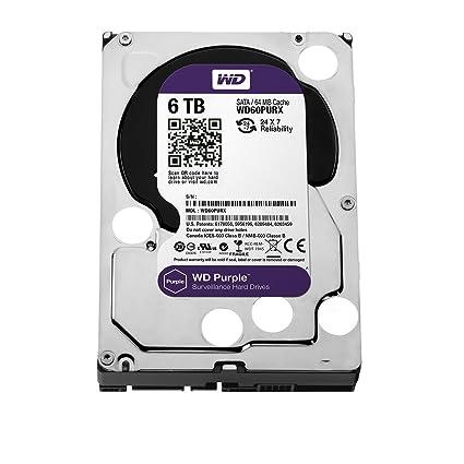 Western Digital Purple Surveillance 6TB Internal Hard Drive (WD60PURX)