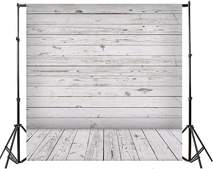 Wooden 8x10 FT Photo Backdrops,Wall Floor Textured Planks Panels Picture Art Print Grain Cottage Lodge Hardwood Pattern Background for Photography Kids Adult Photo Booth Video Shoot Vinyl Studio Props