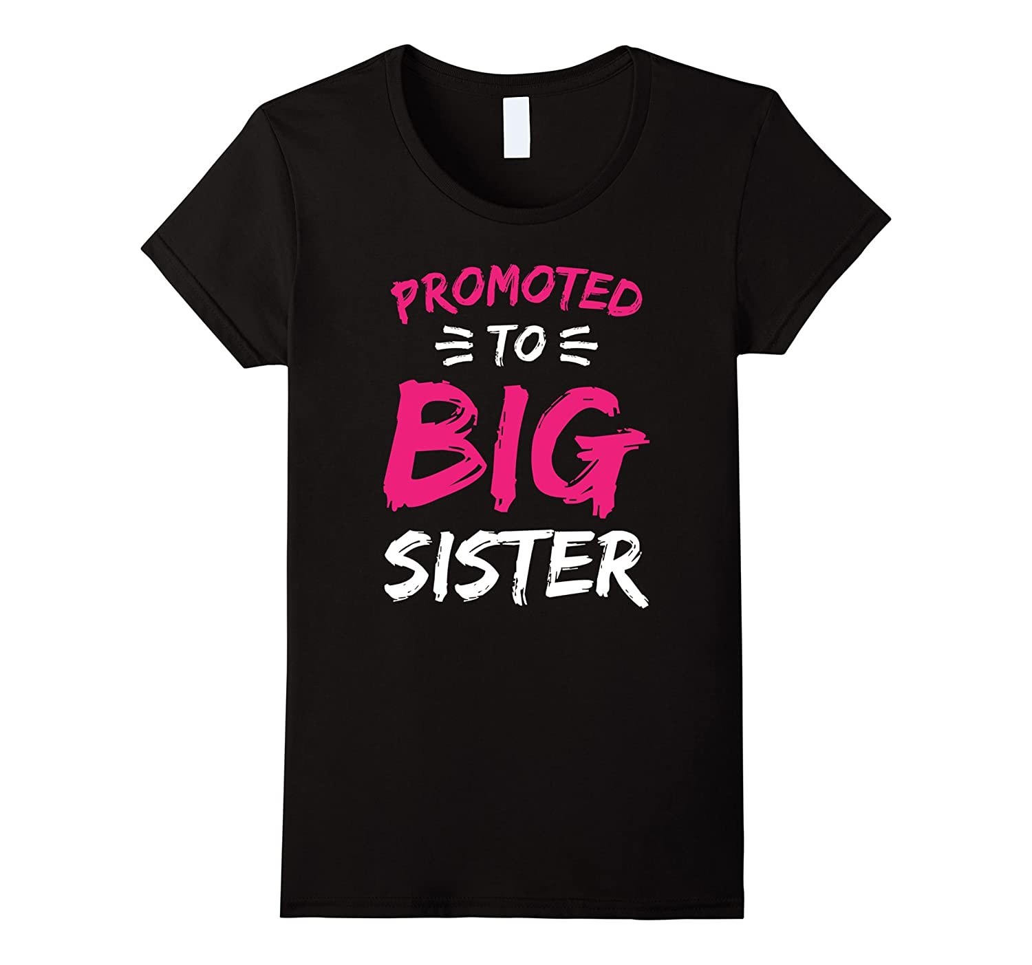 Promoted To Big Sister T-Shirt - New Baby Gift T-Shirt-BN