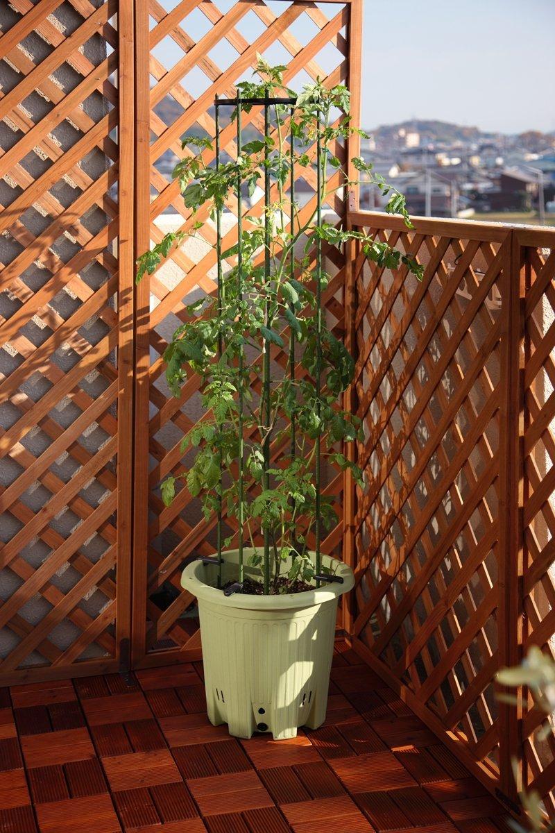 アップルウェアー 楽々菜園 丸型プランター(植木鉢)15L