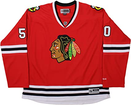 Chicago Blackhawks Corey Crawford #50 NHL Womens Premier Jersey, Red