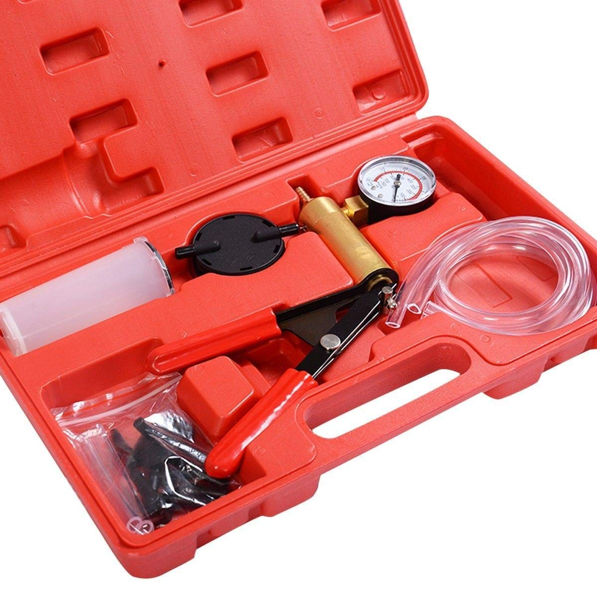 MD Group 2 in1 Brake Bleeder Bleeding & Vacuum Pump Tester Kit Professional Automotive by MD Group