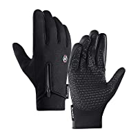 Deals on Lixada Winter Windproof Waterproof Anti-Slip Cycling Gloves