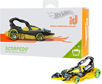 Hot Wheels id Scorpedo Car (Street Beasts)