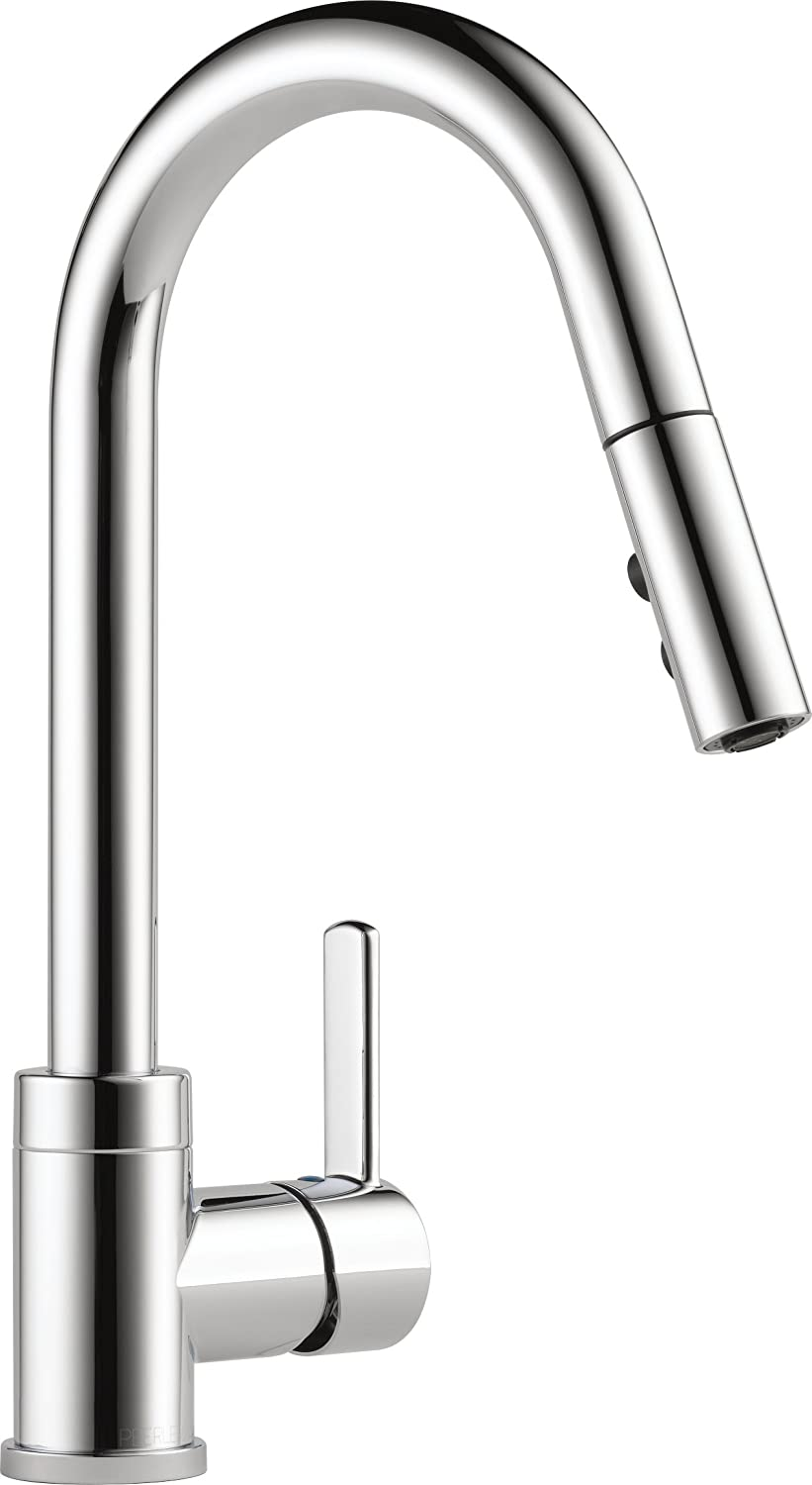 Peerless Precept Single-Handle Kitchen Sink Faucet with Pull Down Sprayer, Chrome P188152LF