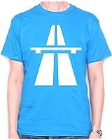 Autobahn T Shirt by Old Skool Hooligans - Motorway Autoroute Logo T Shirt by Old Skool Hooligans