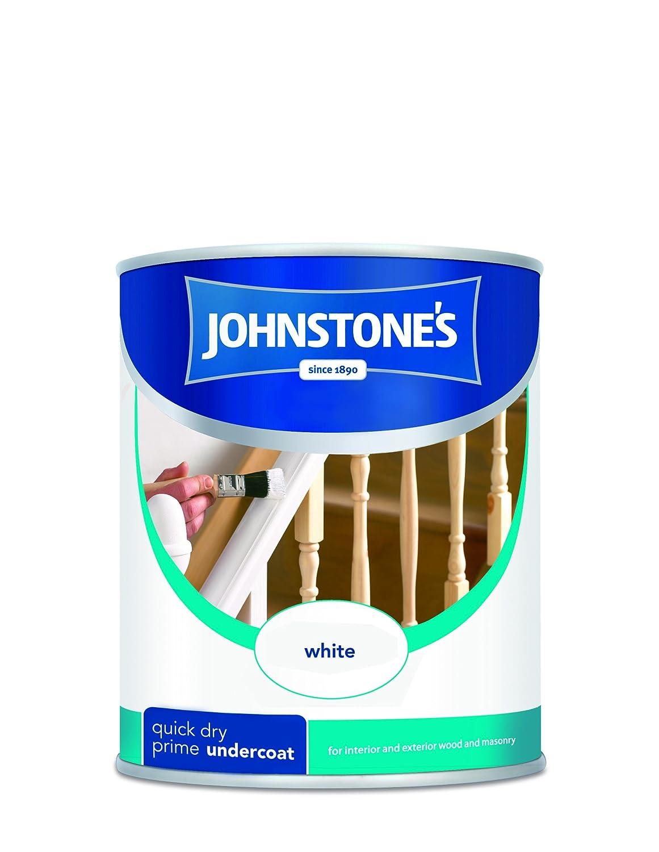 Johnstone's 305465 750ml Quick Drying Primer Undercoat Paint - Brilliant White PPG Architectural Coatings UK & Ireland
