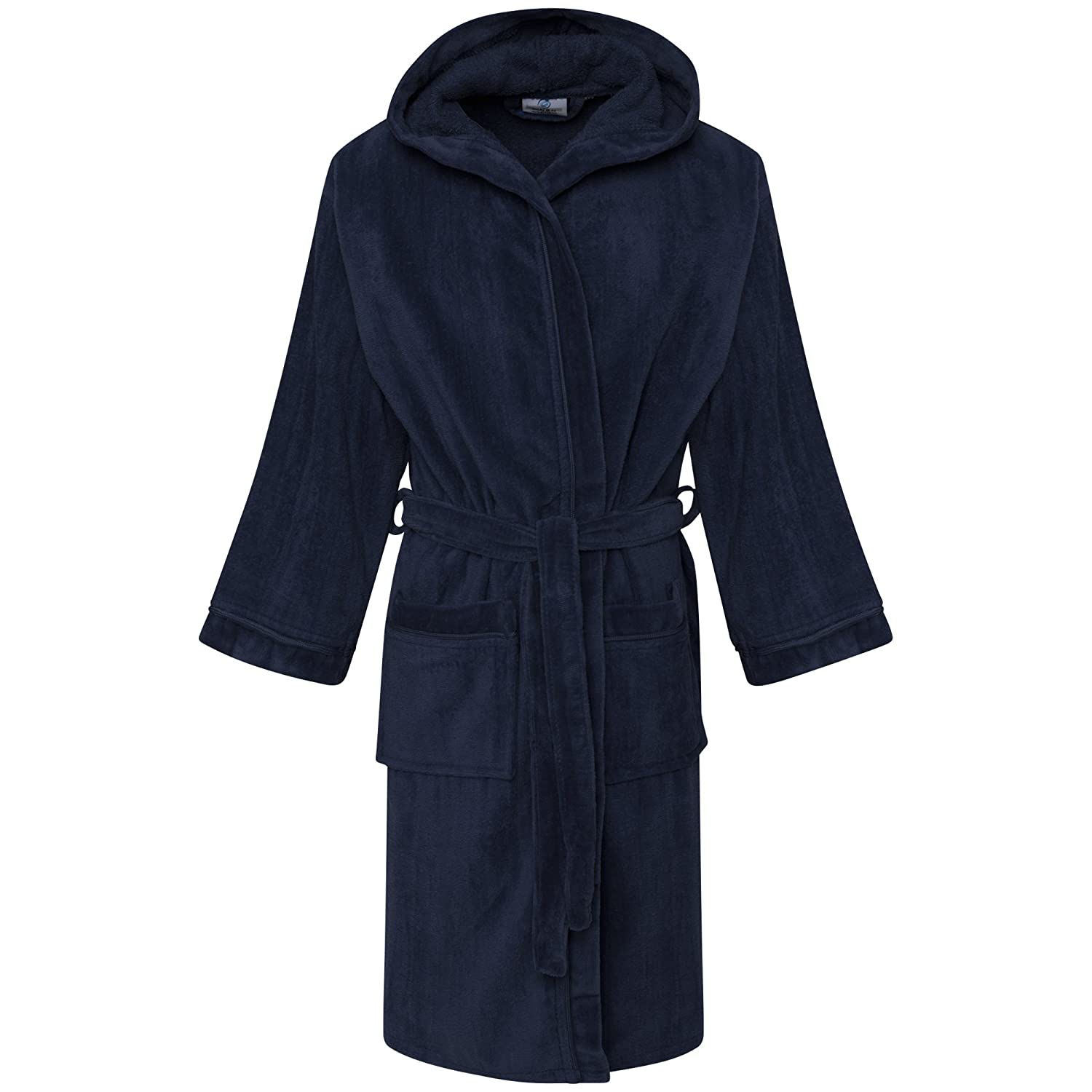Linen Galaxy Kids Boys Girls Velour Hooded Bathrobes Terry Towel Egyptian Cotton Material Dressing Gown
