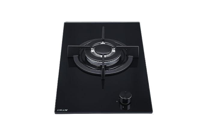 Millar gh3011pb placas de horno de cristal templado con 1 quemador ...
