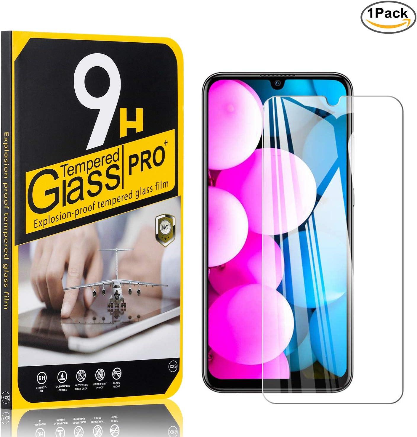 NBKASE 1 Piezas Protector de Pantalla para Galaxy A30 / Galaxy A20, Alta Definicion Protector de Pantalla Cristal Templado, 9H Dureza, Anti-despegamientos, Anti-arañazos,: Amazon.es: Bebé