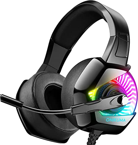 ONIKUMA Gaming Headset For PS4 With 7 1 Surro