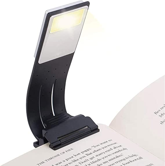Einstellbare flexible Leselampe 14 LED USB Wiederaufladbare und augenpflegende Buchmagazinleuchte 9 Modi Flexible Clip-Leselampe Tragbar f/ür das Home Office Einfache Verwendung f/ür Sch/üler Kinder