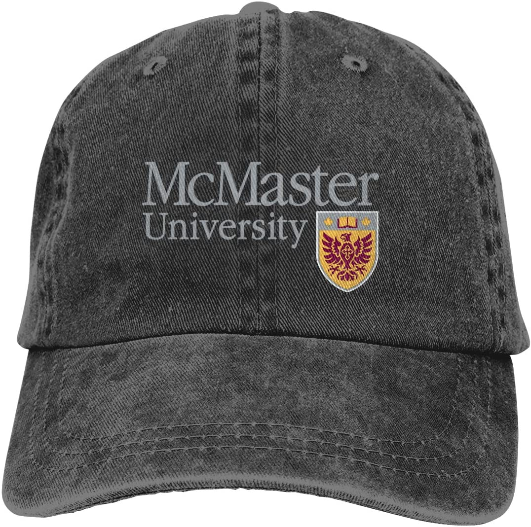 McMaster University-5 Unisex Baseball Cowboy Hats Caps