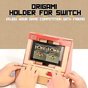 Flytise NS Switch Case DIY Cardboard Holder Arcade Soporte para Nintendo Switch: Amazon.es: Hogar