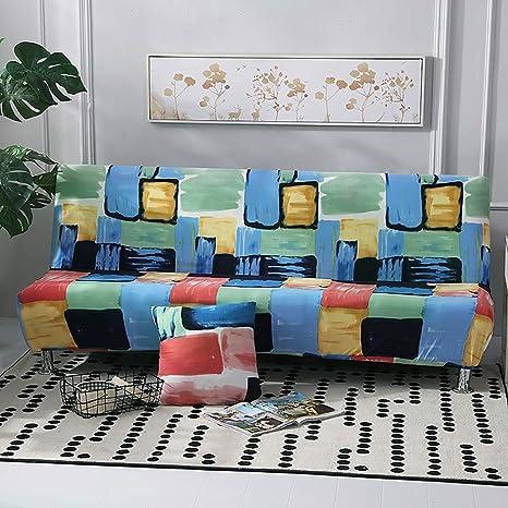 Funda de sofá sin Brazo, Impermeable con Tejido elástico ...