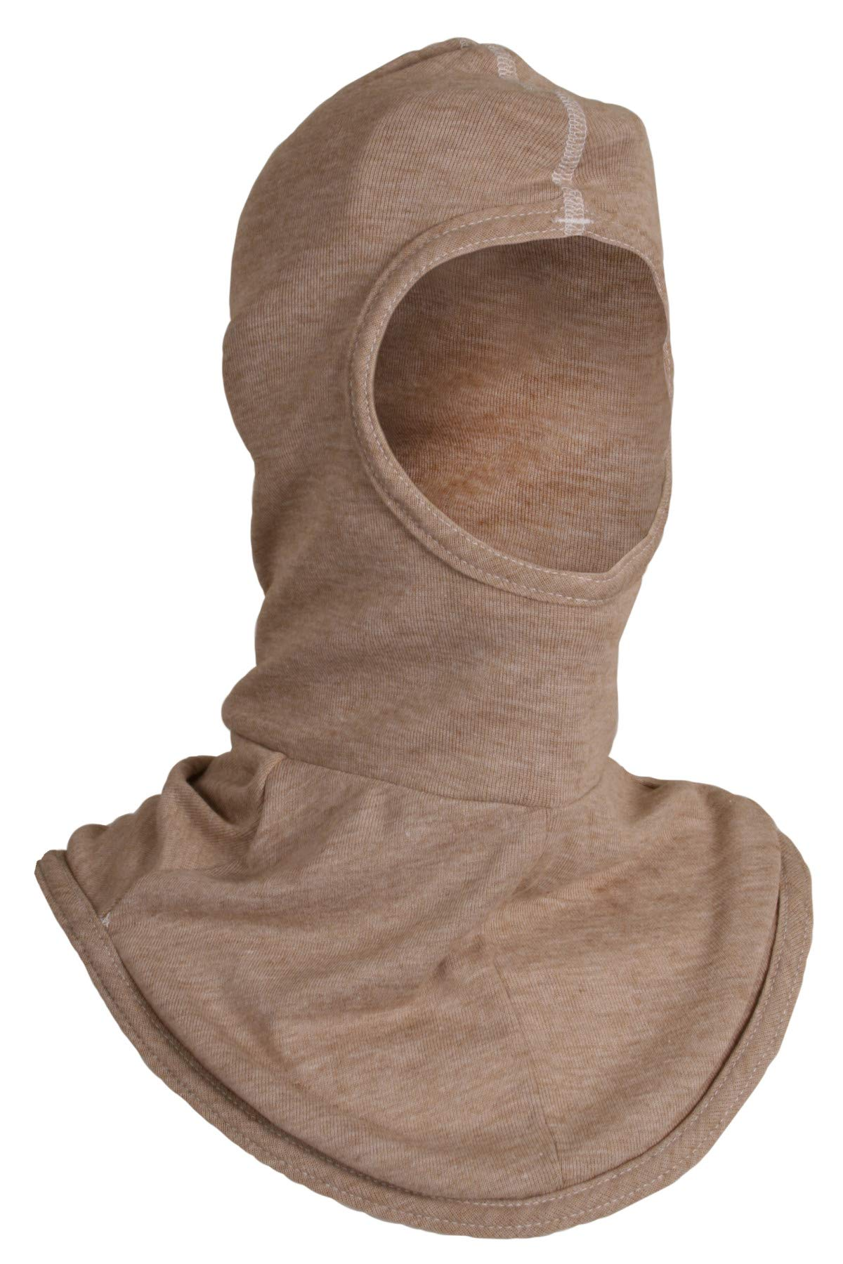 National Safety Apparel H31PK Double Layer PBI Face with Single Layer Bib, One Size, Khaki