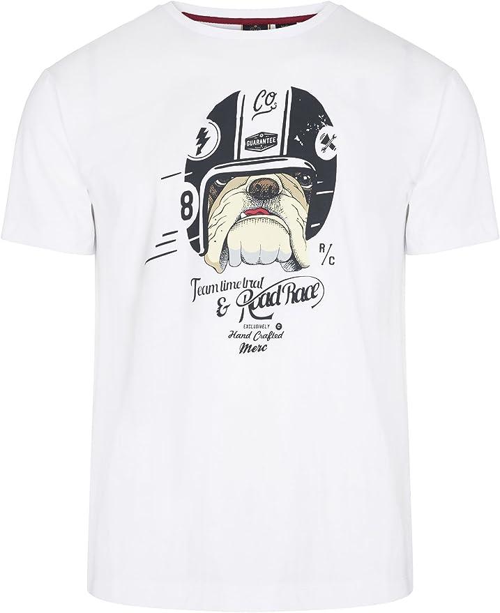 Merc - Camiseta - Manga corta - para hombre: Amazon.es: Ropa y accesorios