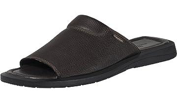 0fa56576c Handmade Genuine Dress Leather Sandals for Men Slip On