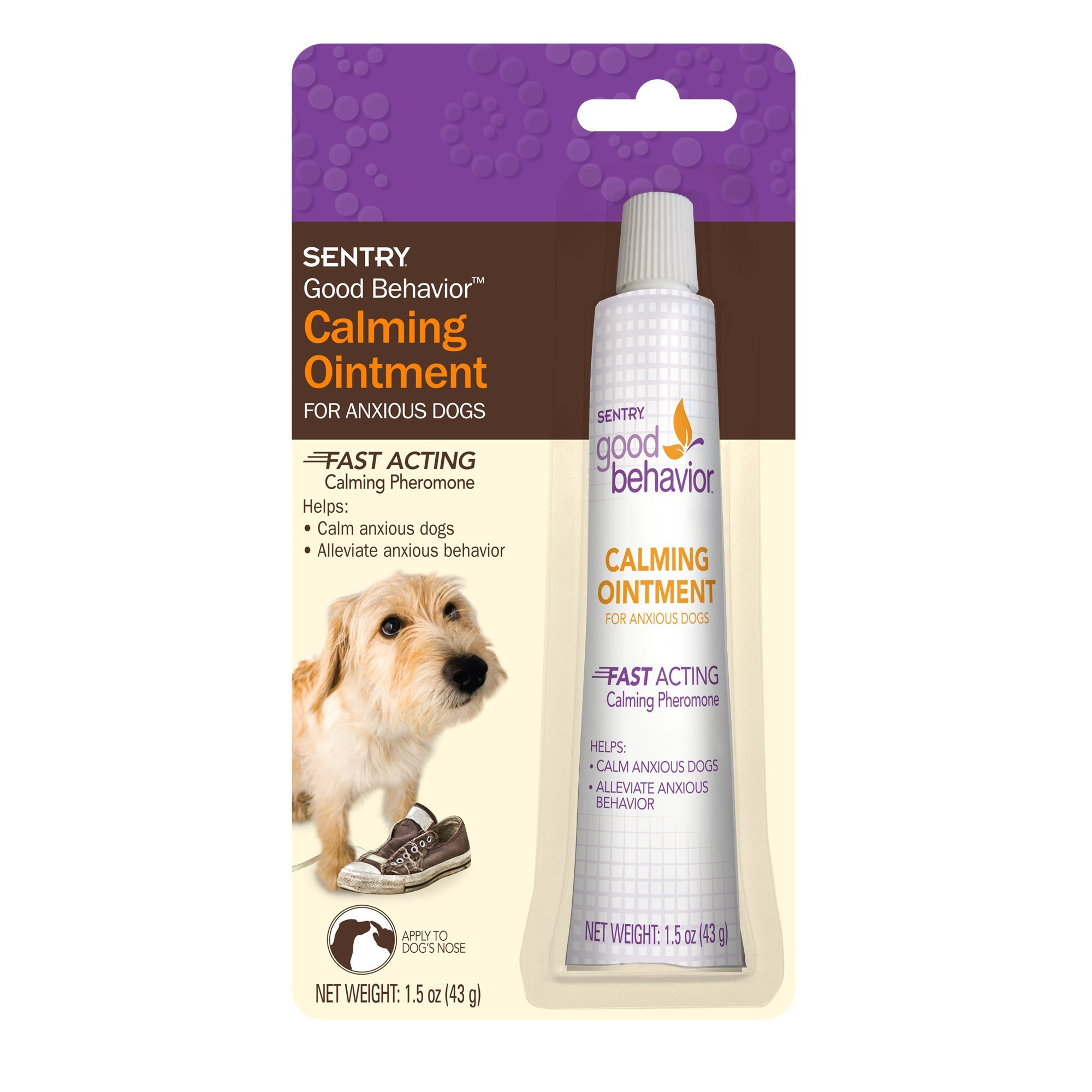 Good Behavior Sentry Calming Ointment Dog 1.5 oz. by Good Behavior