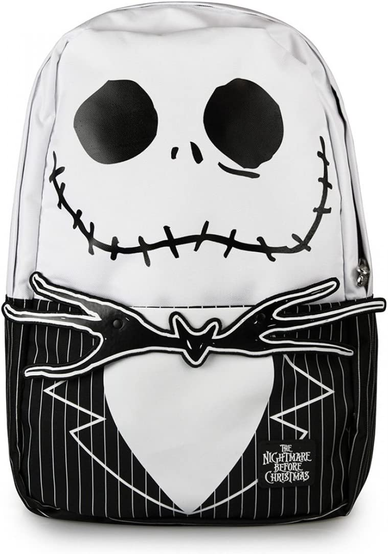 Nightmare Before Christmas Jack Face Loungefly Backpack