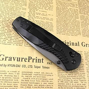 ENNSUN F24 Tactical Folding Rescue Camping Survival Pocket Knife 440C Blade  Aluminum Handle Camping Survival Pocket Knives Ball Bearing Flipper