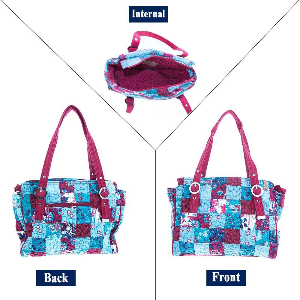 Amazon.com: Donna Sharp Layla Bag, Multi, talla única : Shoes
