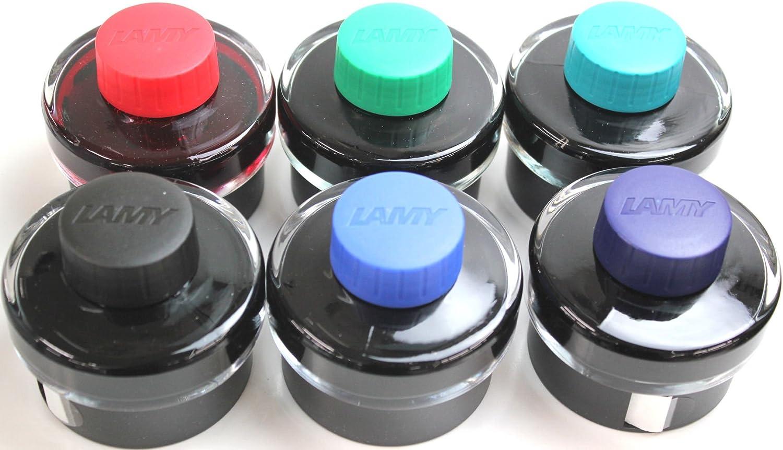 + 1324761 7 cm, 1 unidad Converter de tinta Lamy 1208931 Tinta T52, negra transparente