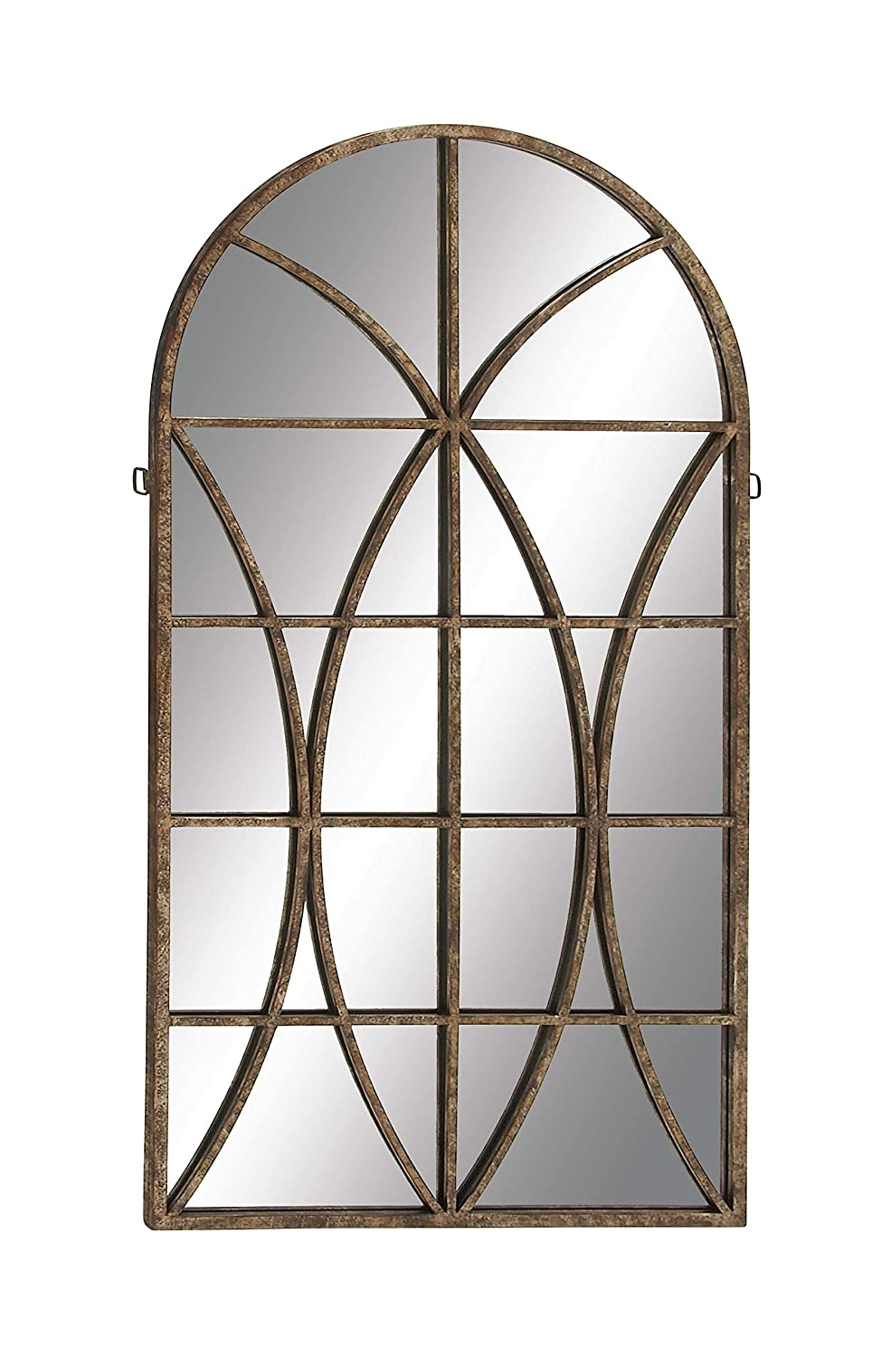 Deco 79 Metal WD Wall Mirror 32 by59