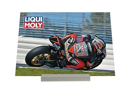 Soporte Fotografias Diversión Liqui Moly Carreras de motos Letrero Decoración
