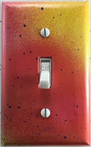 Amazoncom Spray Paint Look Decorative Single Toggle Light Switch