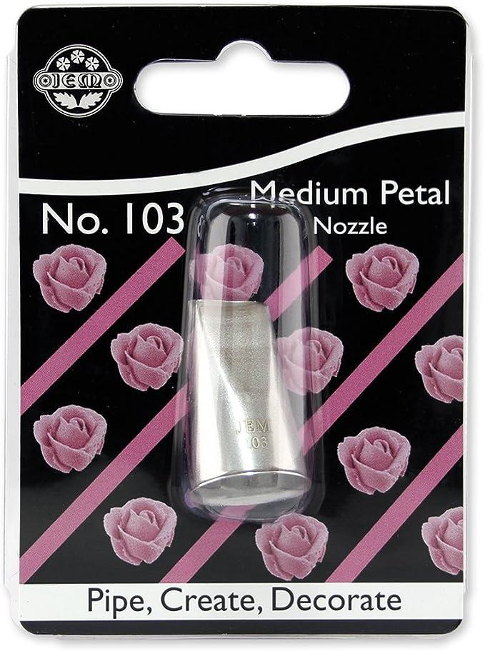 103 Ruffle Piping Nozzle no JEM Medium Petal