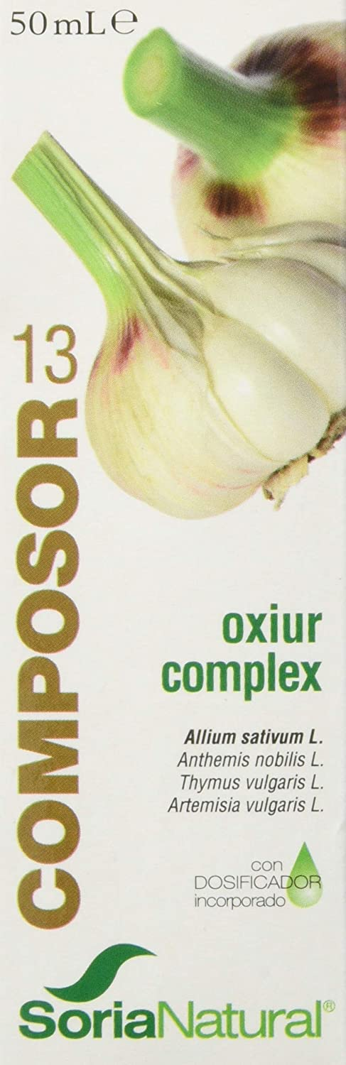 Soria Natural Composor 13 Oxiur Complex Lombrisor 50 Ml Amazon Es Salud Y Cuidado Personal