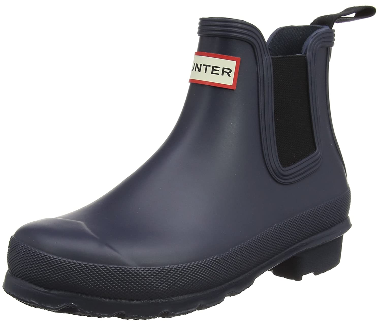 Hunter Women's Original Chelsea Rma Ankle-High Rubber Rain Boot B01MYBPTO6 6 B(M) US|Navy