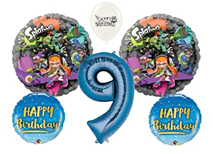 Amazon.com: Ultimate Splatoon - Ramo de globos para fiesta ...