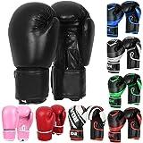 MMA Gel Boxing Gloves Punching Training Bag Mitts Muay Thai Kickboxing Gym Gloves