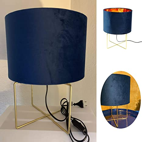 Lese Tisch Lampe Kinder Schreibtisch Beistell Nachttisch Leuchte Büro Licht blau