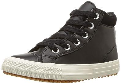 Converse Girls  Chuck Taylor All Star High Top Boot Sneaker Burnt  Caramel Black 9a84e4137