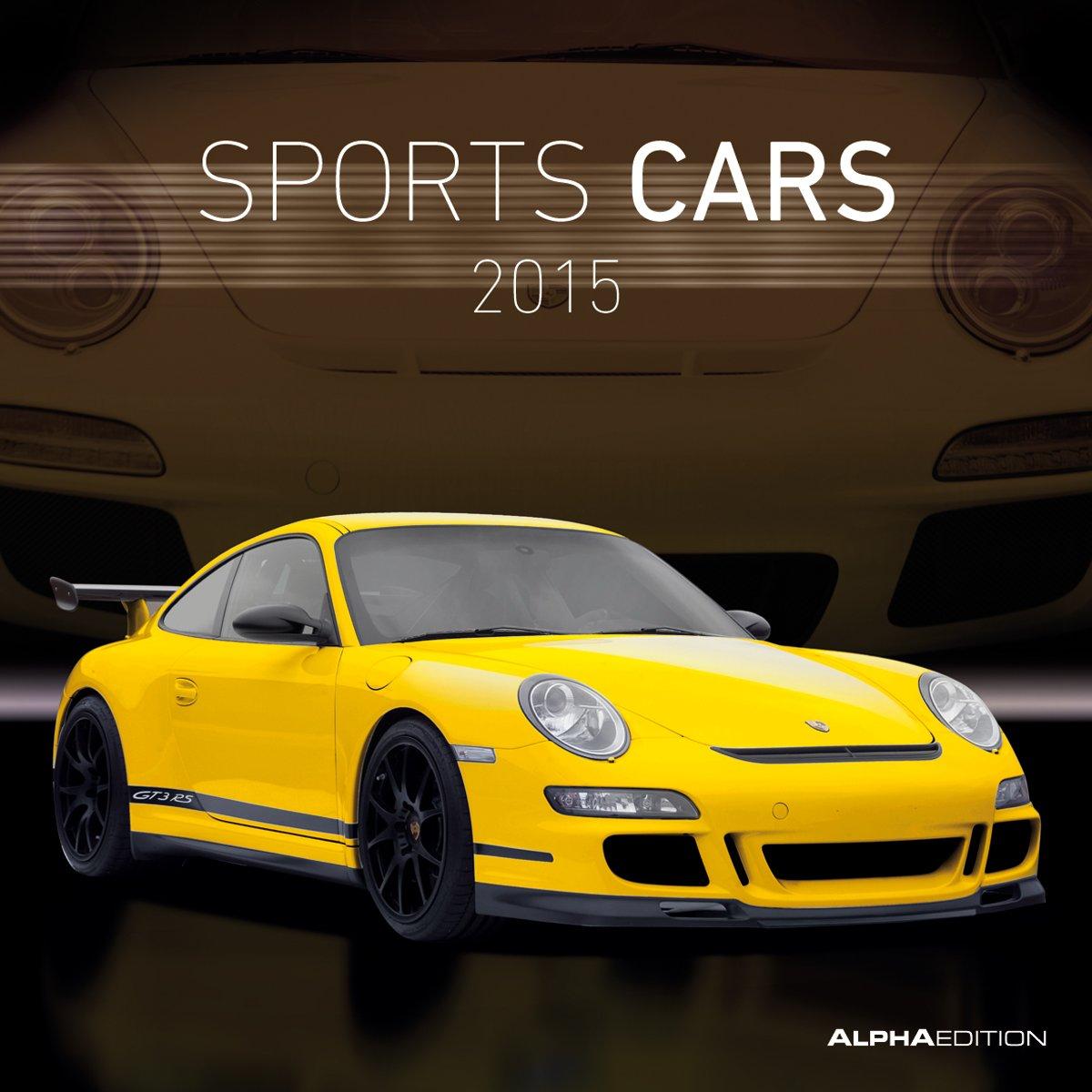 Sports Cars 2015 - Autokalender/Broschürenkalender (30 x 60 geöffnet) - Sportwagen