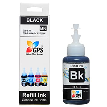 GPS Compatible Ink for Brother T300/T500/T700w/T800w (75gms, Black) Ink Cartridges at amazon