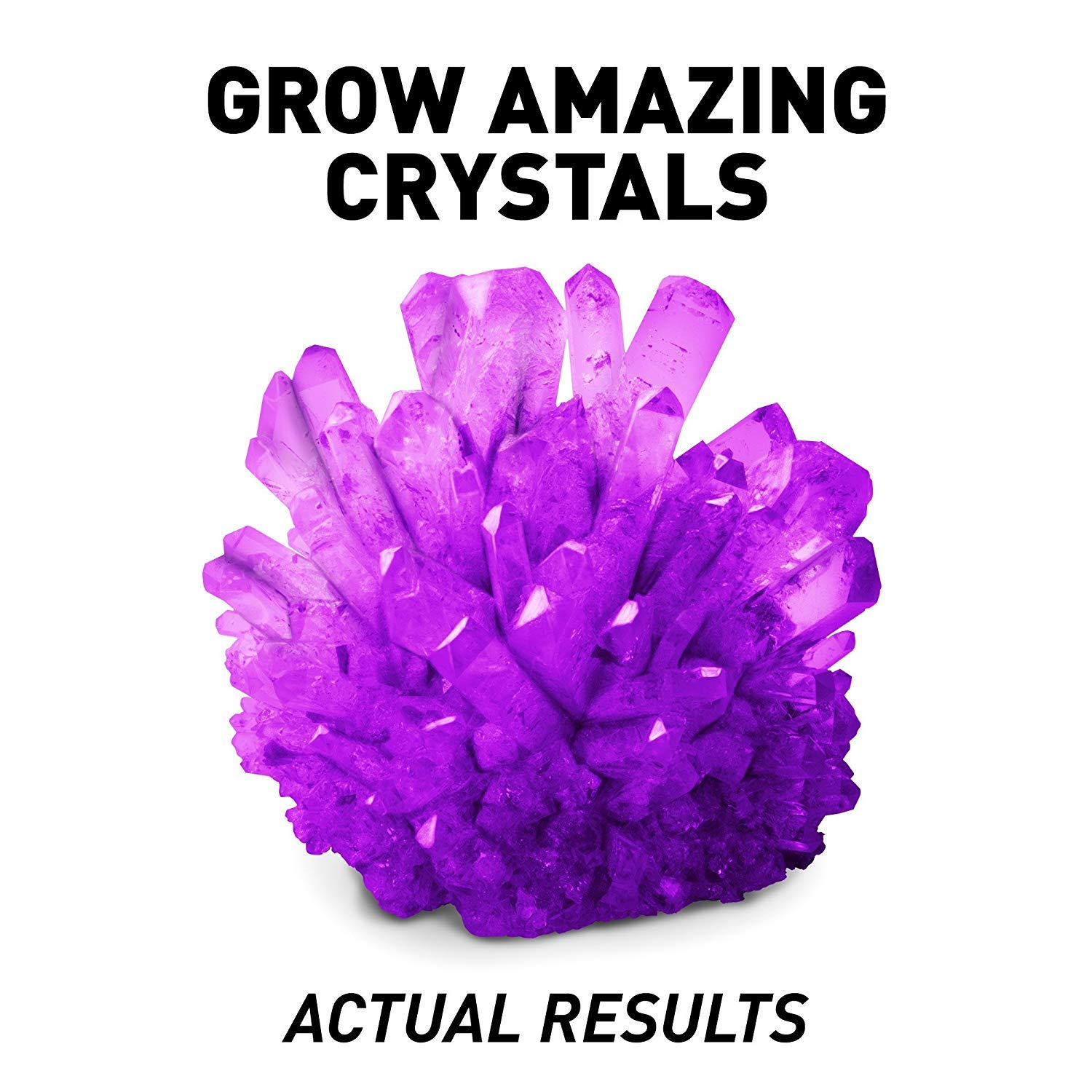 c826685c1 Amazon.com: National Geographic Amethyst Crystal Growing Kit – Grow Purple  Crystals with: Toys & Games