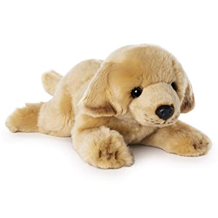 GUND Yellow Labrador Dog Stuffed Animal Medium 14 inch Plush Toy