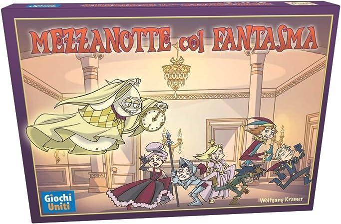 Giochi Uniti Mezzanotte Col Fantasma - Juego de Mesa (versión en Italiano) [Importado de Italia]: No Name: Amazon.es: Juguetes y juegos
