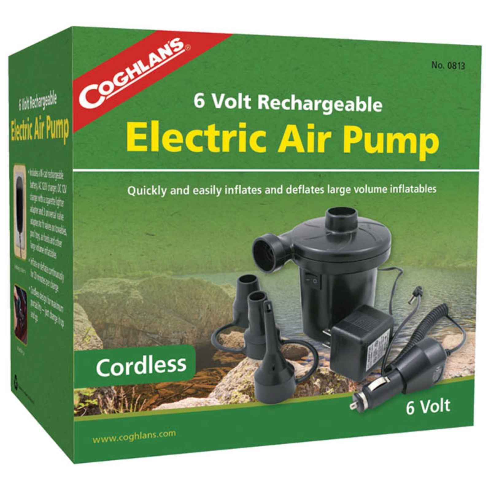 Coghlans 4.8v Rechargeable Air Pump