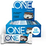 ONE Protein Bars, Cookies & Crème, Gluten Free Protein Bars with 20g Protein and Only 1g Sugar, Guilt-Free Snacking for High