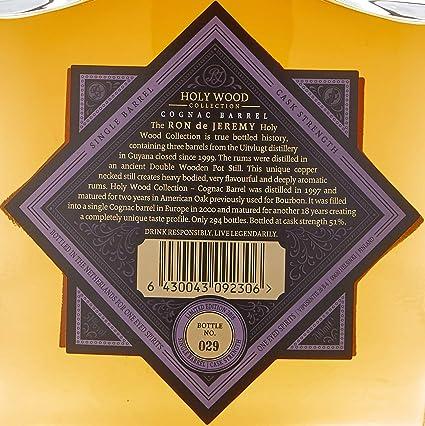 Ron de Jeremy Ron de Jeremy Holy Wood Cognac 51º - 700 ml