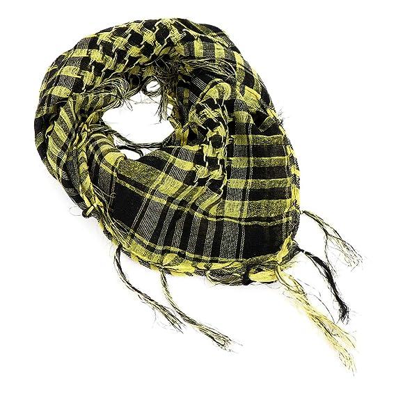 sitio de buena reputación ccf5d c5df8 YONKINY Pañuelo Cuello Shemagh Algodón Moda Unisex árabe ...