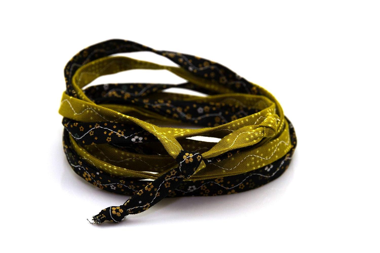 Lieblingsmanufaktur Stoff-Armbänder in vielen farbenfrohen, individuellen Varianten: die buntesten Einzelstücke der Welt 18ABLLMVAZ009244